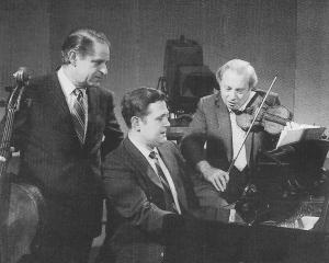 Leonard Rose, Eugene Istomin et Isaac Stern