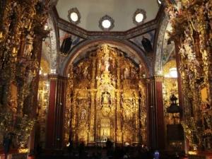 l'Eglise de Tepozotlan