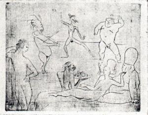 Picasso, La Danse 1905