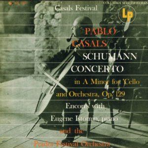 Schumann Cello Concerto Casals original