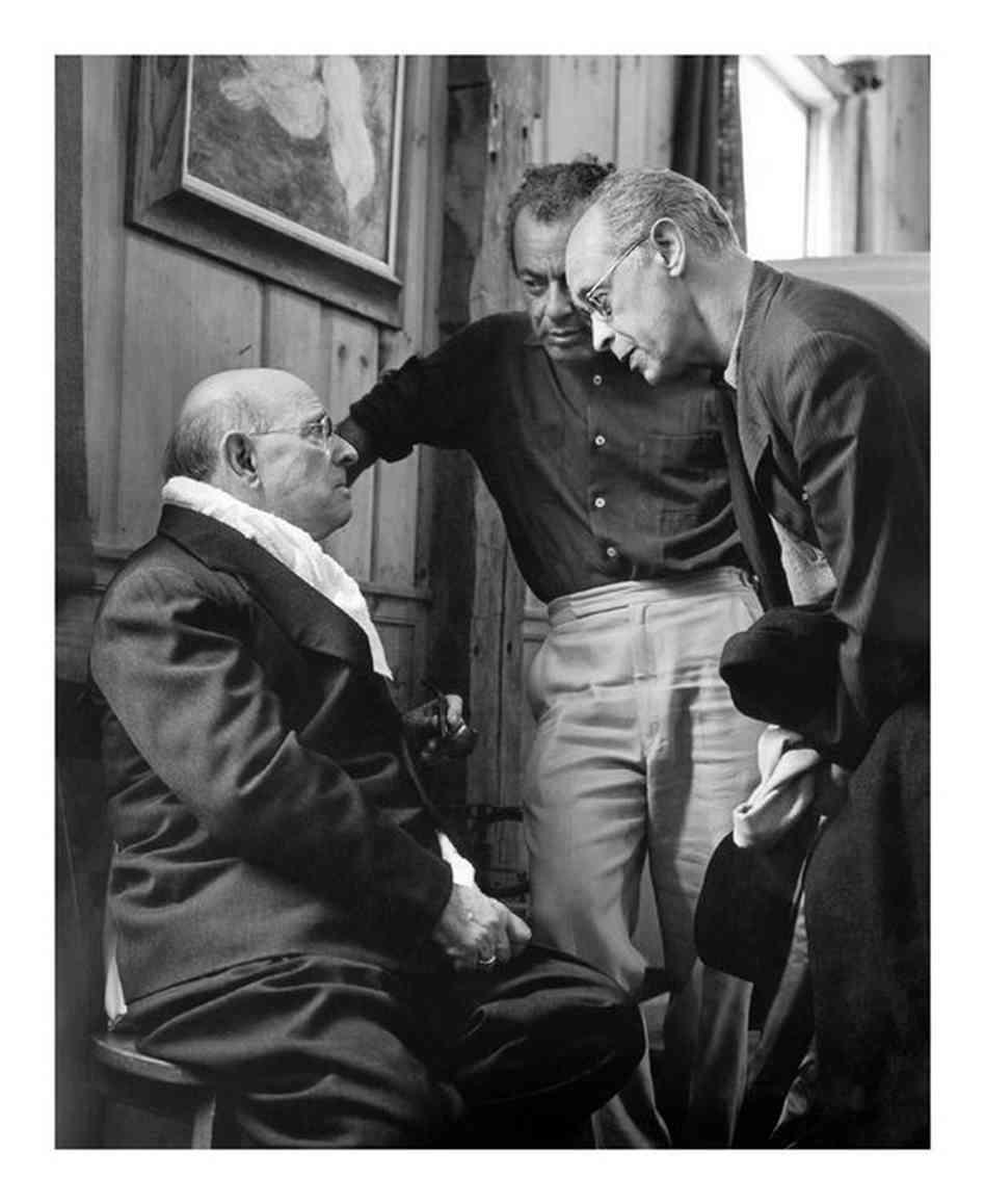 Schneider et Serkin à Marlboro